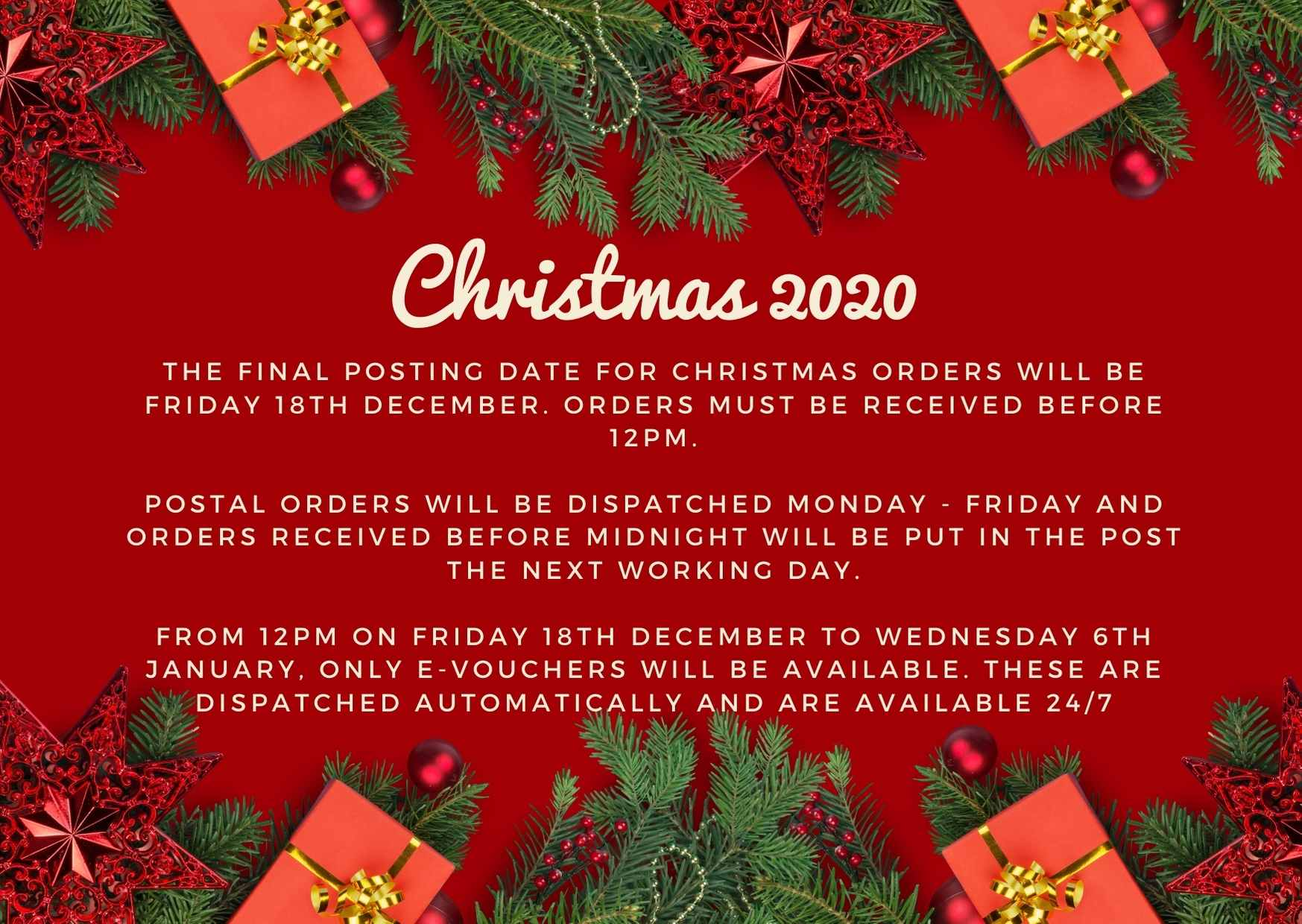 christmas pop up 2020
